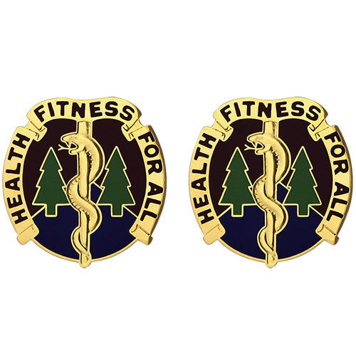3274th Hospital Unit Crest (Health Fitness For All)