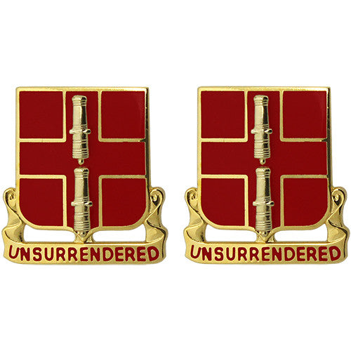 263rd ADA (Air Defense Artillery) Unit Crest (Unsurrendered)