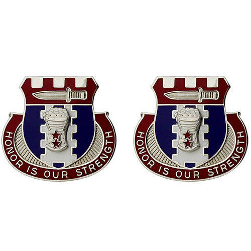 Special Troops Battalion, 155th Armored Brigade Combat Team Unit Crest (Honor is Our Strength)