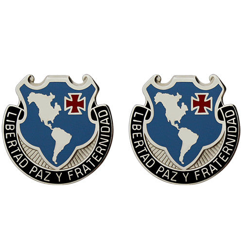 Western Hemisphere Institute for Security Cooperation Unit Crest (Libertad Paz Y Fraternidad)