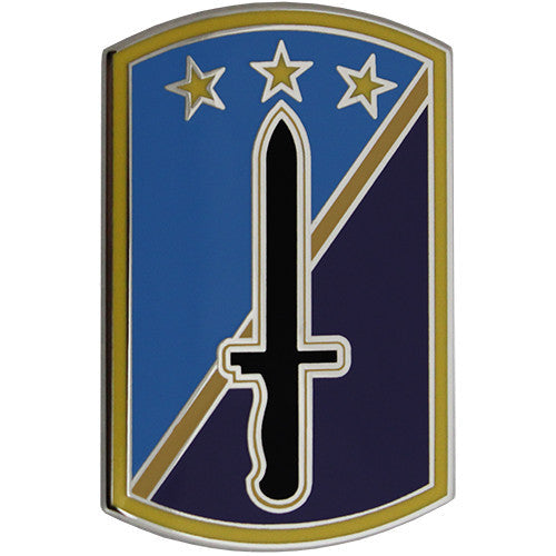 170th Infantry Brigade Combat Service Identification Badge