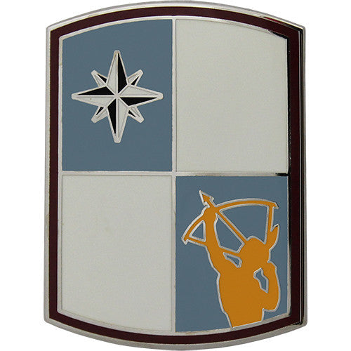 287th Sustainment Brigade Combat Service Identification Badge