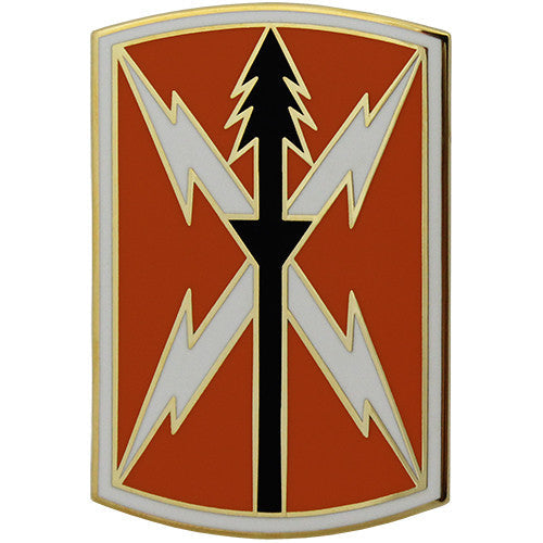 516th Signal Brigade Combat Service Identification Badge