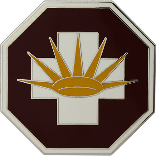 8th Medical Brigade Combat Service Identification Badge