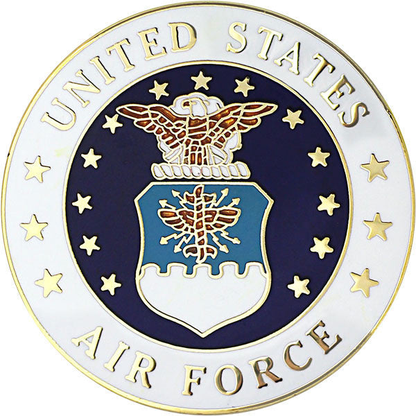 Air Force Large Crest 1 1/2