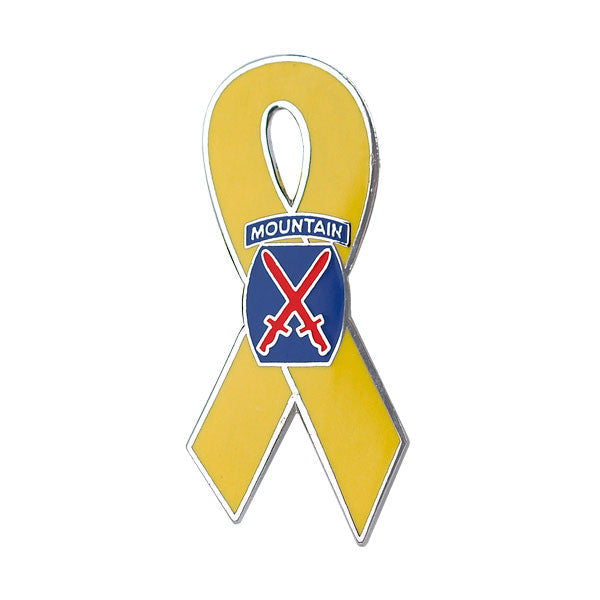 10th Mountain Division on Yellow Ribbon 1 1/4