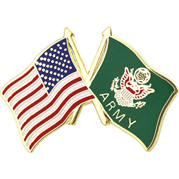 American and U.S. Army Cross Flags 1