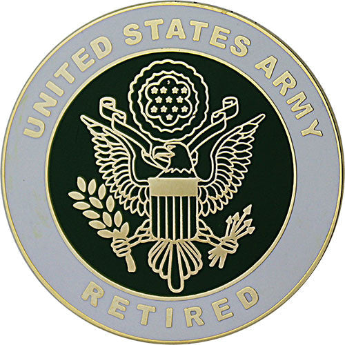 Army Retired Large Crest 1 1/2