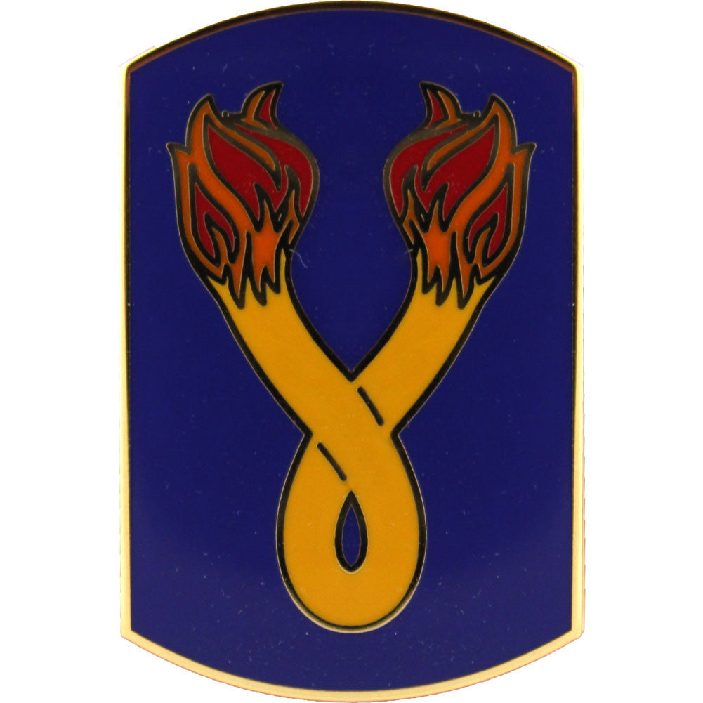 196th Infantry Brigade Combat Service Identification Badge