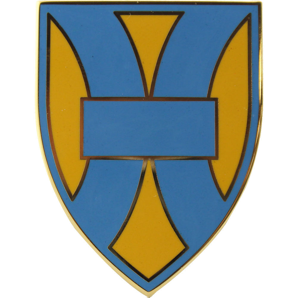 21st Sustainment Command Combat Service Identification Badge