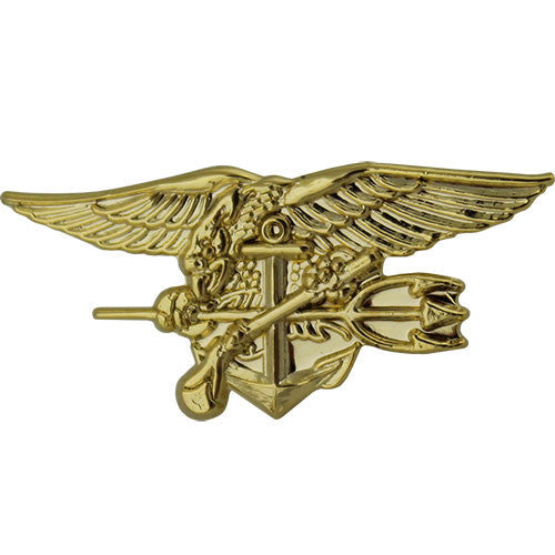 Navy Special Warfare Seal Trident 1 1/8