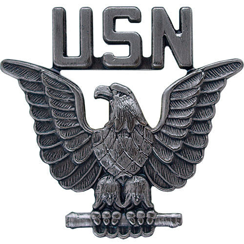 usn perched eagle 1 lapel pin usamm