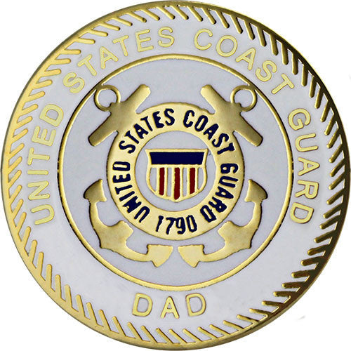 Coast Guard Dad with Crest 7/8