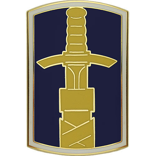 321st Civil Affairs Brigade Combat Service Identification Badge