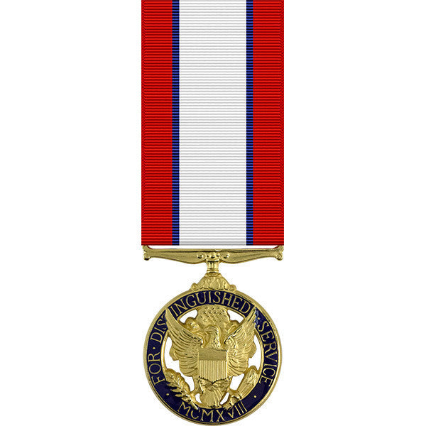 Army Distinguished Service Anodized Miniature Medal