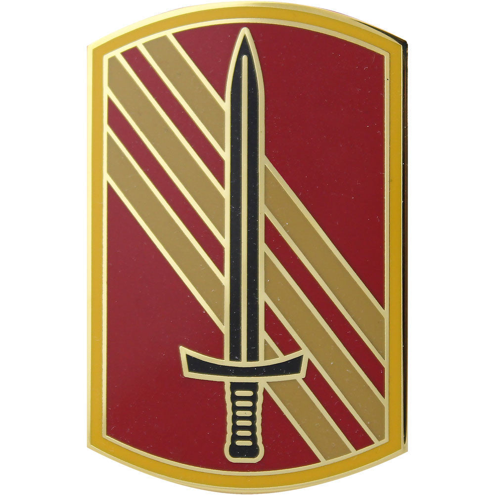 113th Sustainment Brigade Combat Service Identification Badge