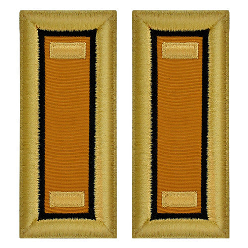 Army Female Shoulder Boards - Electronic Warfare