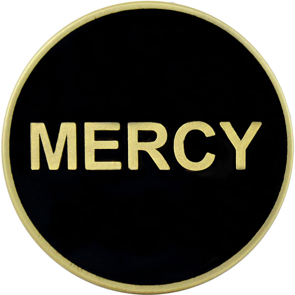 Mercy / No Mercy Coin - Front