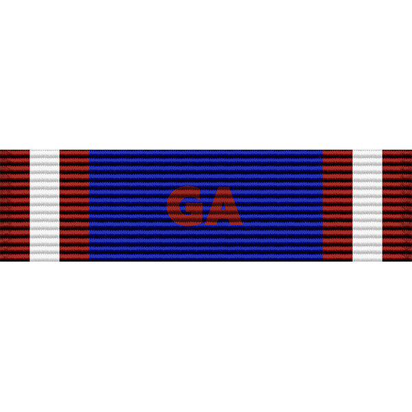Georgia National Guard State Active Duty Ribbon