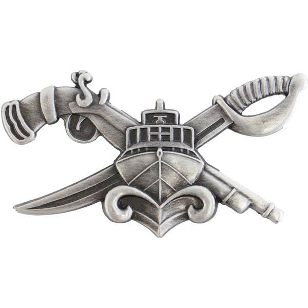 Navy SWCC Special Warfare Combatant Crew Badge.