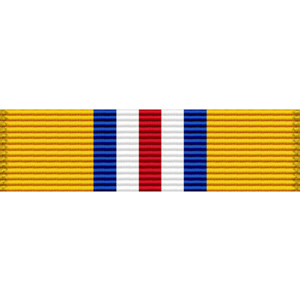 New Mexico National Guard Emergency Service Ribbon