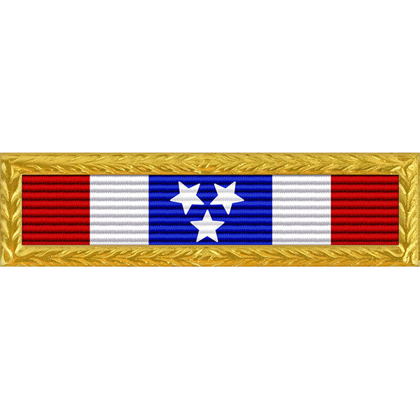 Tennessee National Guard Governor's Meritorious Unit Citation Ribbon with NAVY/AF/MC/CG Frame
