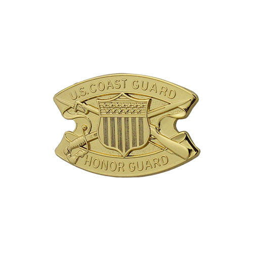 Coast Guard Miniature Honor Guard Badge