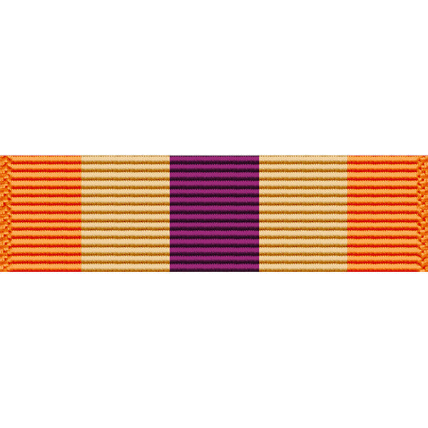 Wisconsin National Guard Emergency Service Ribbon