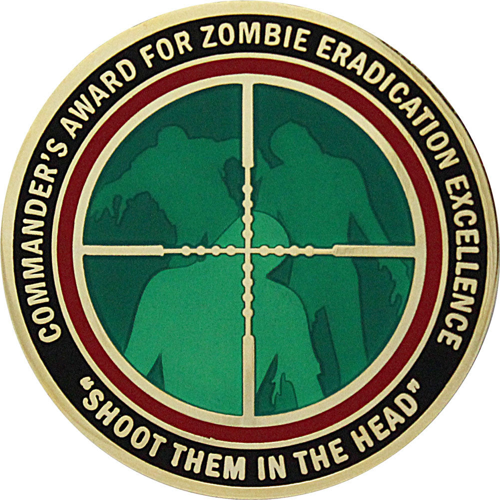 Commander Award Zombie Eradication Coin