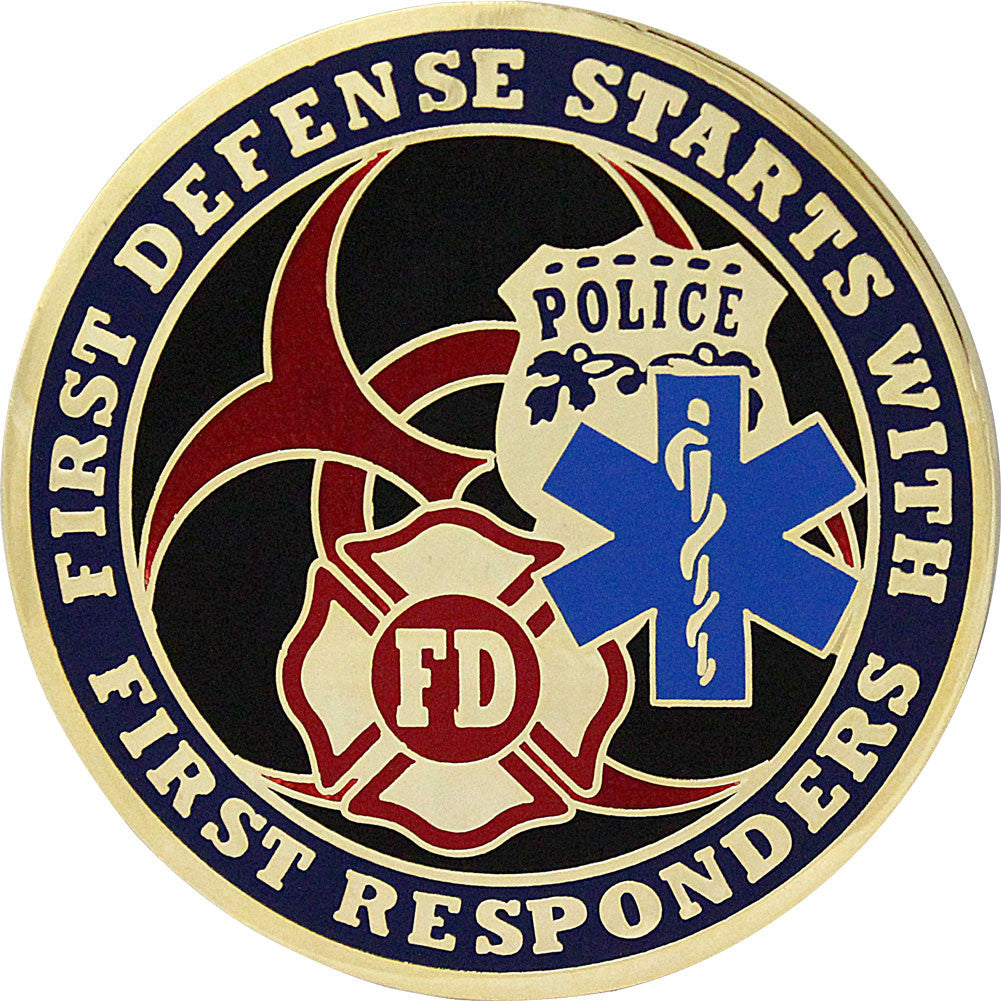 Quarantine First Responders Coin