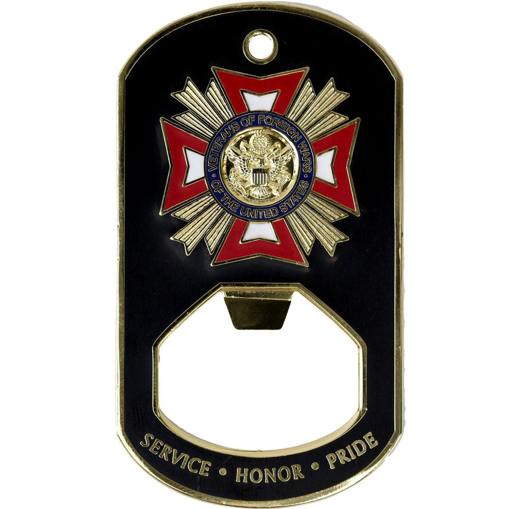 VFW Post Canteen Master Key Bottle Opener
