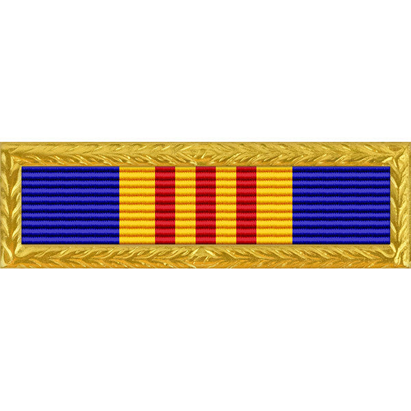New Jersey National Guard Strength Ribbon with Small Frame