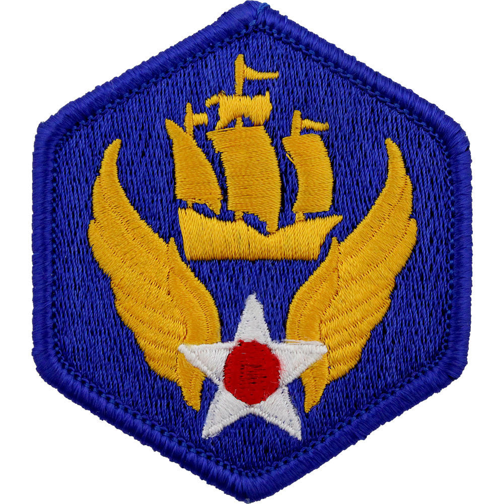 WWII Army Air Corps 6th Air Force Class A Patch