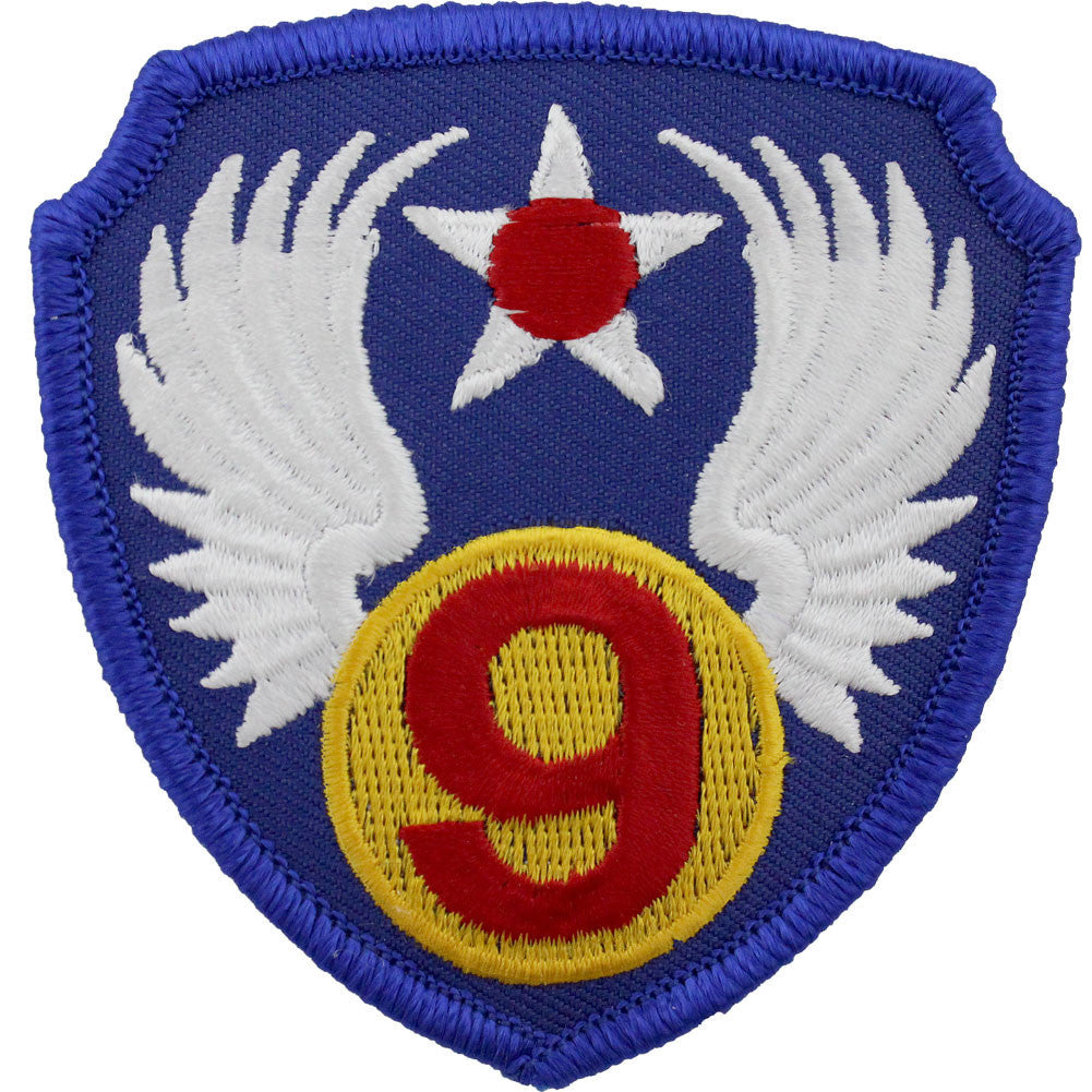 WWII Army Air Corps 9th Air Force Class A Patch