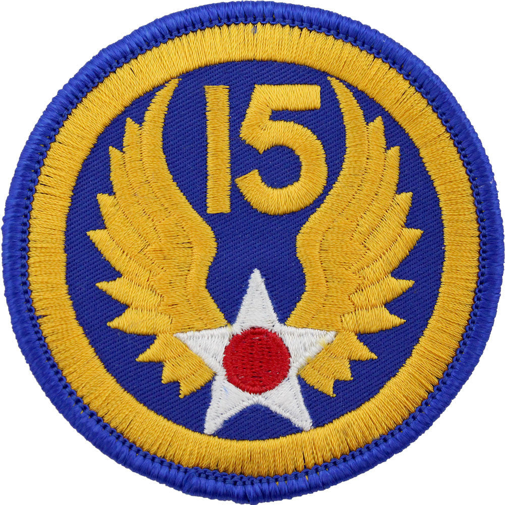 WWII Army Air Corps 15th Air Force Class A Patch