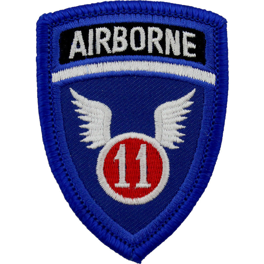 WWII Army Air Corps 11th Airborne Class A Patch