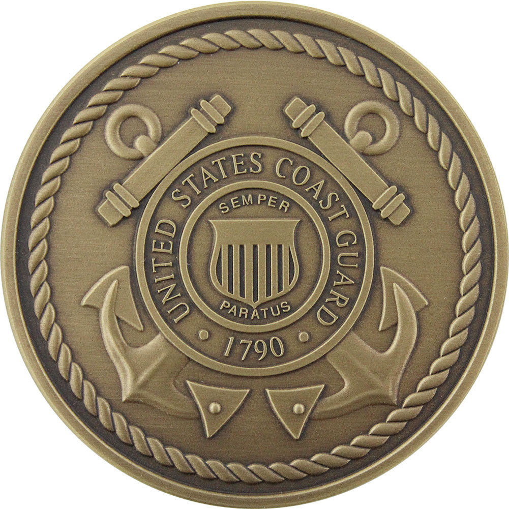U.S. Coast Guard Custom Engravable Coin