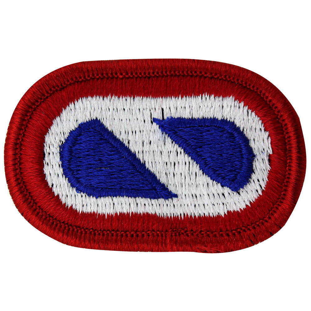 U.S. Army 1st Support Command Oval Patch