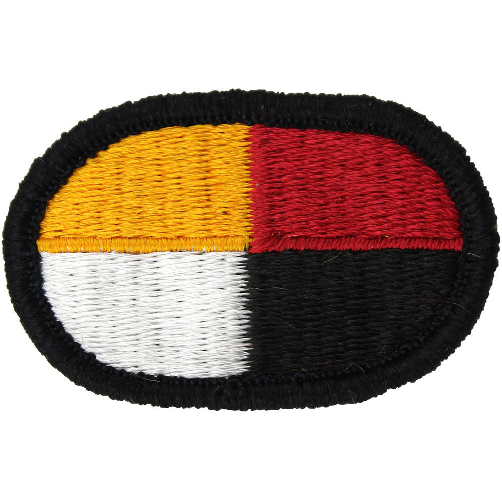 U.S. Army 3rd Special Forces Group Oval Patch