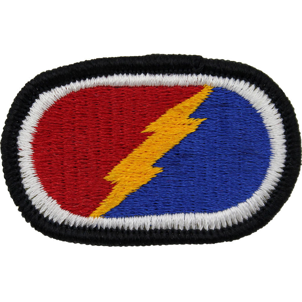 U.S. Army 4th Brigade 25th Infantry Division Oval Patch