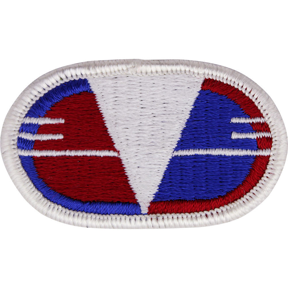 U.S. Army 30th Engineer Brigade Oval Patch