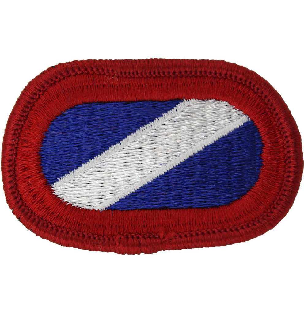 U.S. Army 82nd Support Battalion Forward Oval Patch