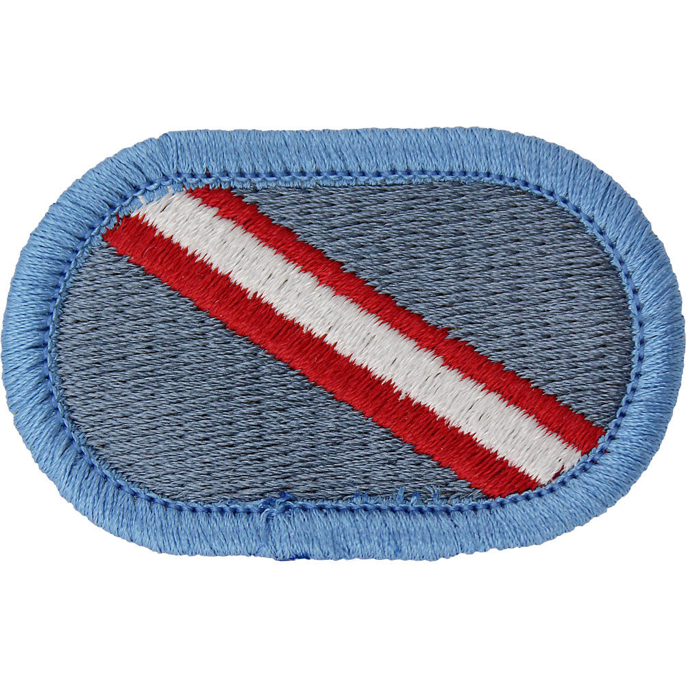 U.S. Army 143rd Infantry Regiment 1st Battalion Oval Patch