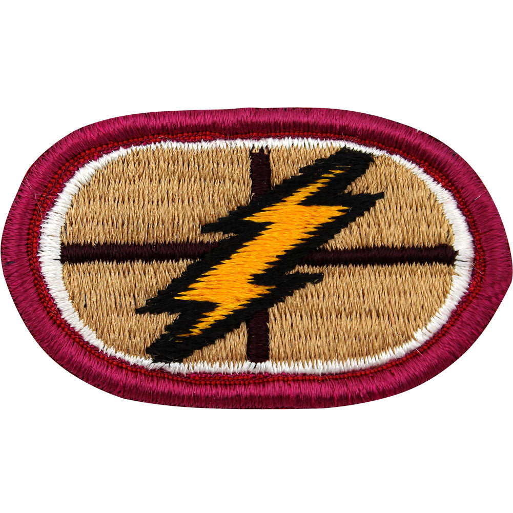 U.S. Army 167th Support Battalion Oval Patch
