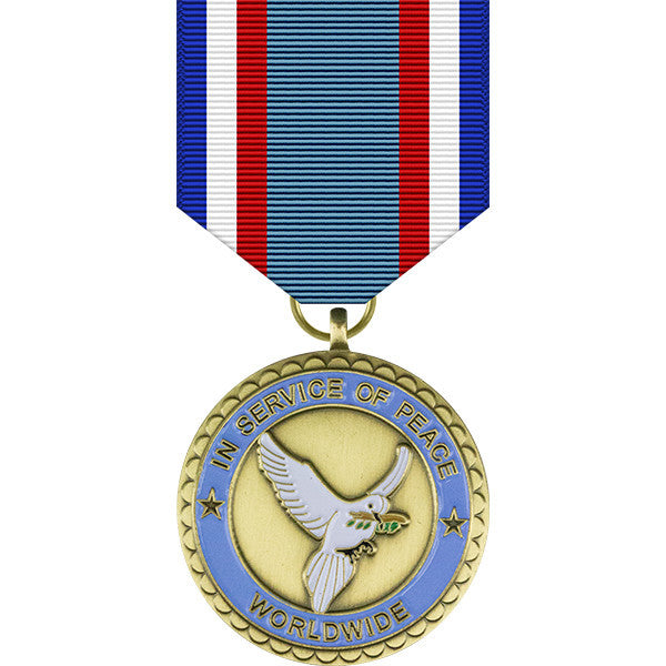 United Nations In Service of Peace Commemorative Medal