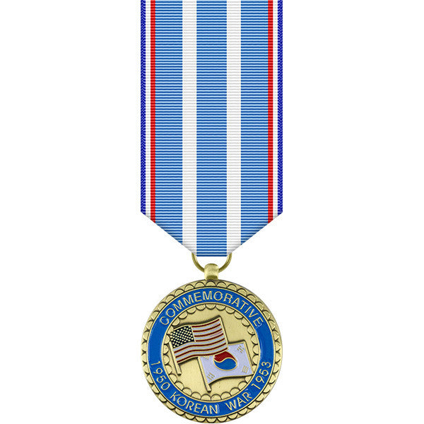 Korean War Commemorative Miniature Medal