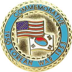 Korean War Commemorative Lapel Pin