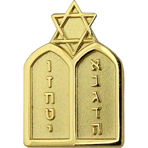 Navy Jewish Chaplain Collar Device