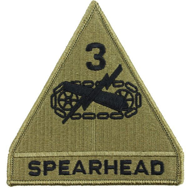 3rd Armored Division MultiCam (OCP) Patch