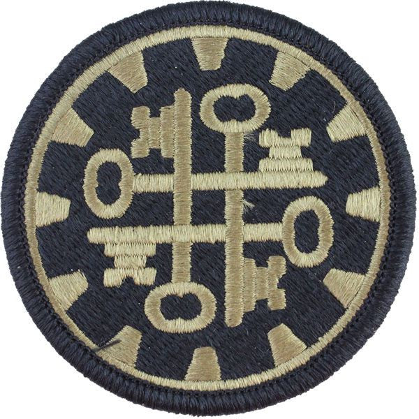 177th Military Police Brigade MultiCam (OCP) Patch